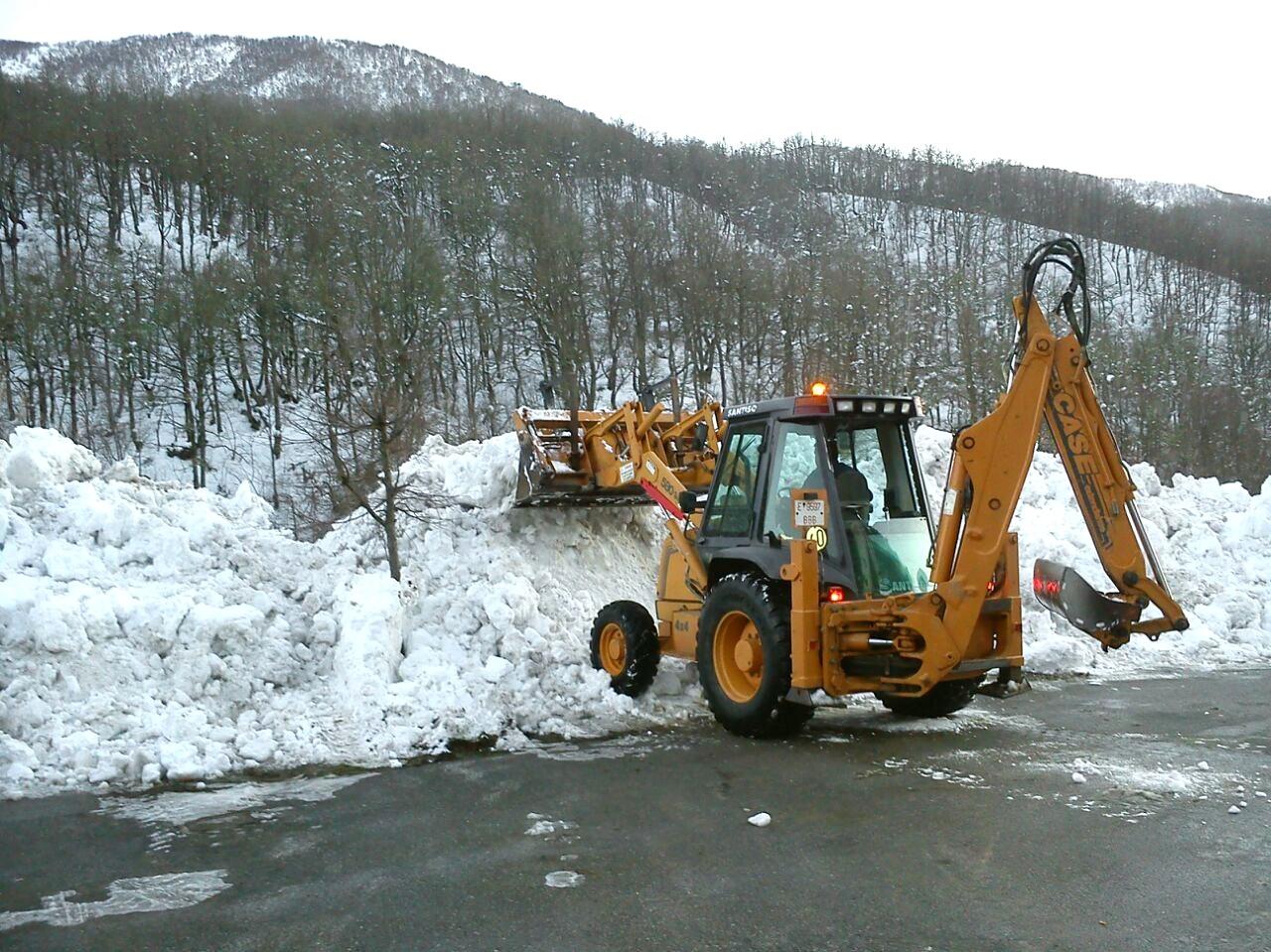 Limpeza de nieve
