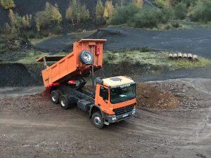 MercedesActros Santiso Excavaciones